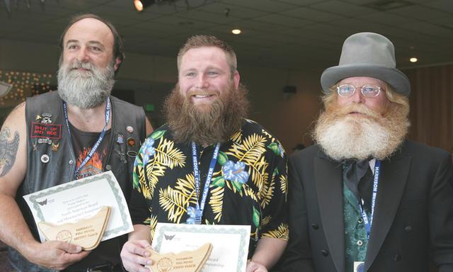 Cool Full Beard Garibaldi Short Hairstyles Gunalazisus